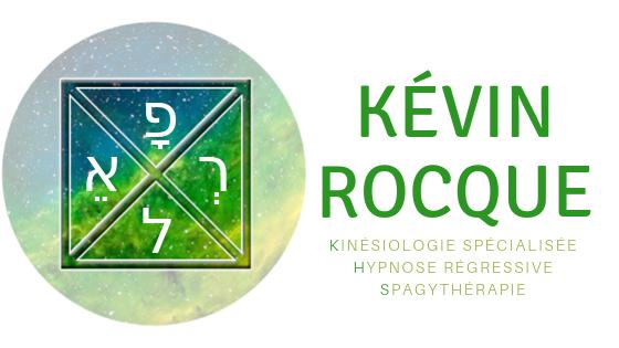 Kévin ROCQUE – Kinésiologie spécialisée – Hypnose Régressive QHHT® – SpagyThérapie – Taverny – Val d'Oise – 95 – Paris – Ile de France – France Logo